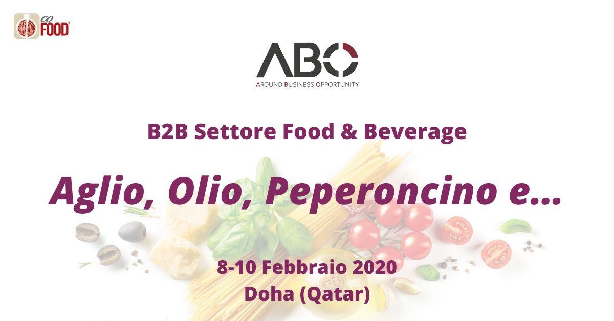Doha – Aglio, Olio, Peperoncino e… Doha (Qatar) Febbraio 2020 – CoFood